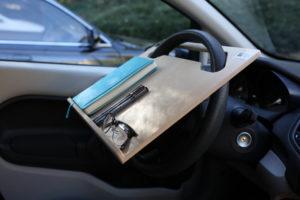 Notebook Wheeldesk steering wheel desktop